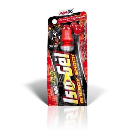 ISO GEL ENERGY SHOCK 70ML AMIX | VITAMINAS-MINERALES | 2.90€