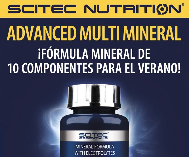SCITEC ESSENTIALS ADVANCED MULTI MINERAL 60 TABS