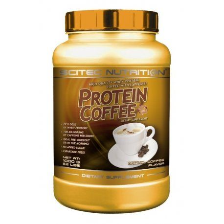 SCITEC NUTRITION PROTEIN COFFE 1000 GRS