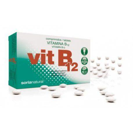 SORIA NATURAL VITAMINA B12 48COMP 200MG