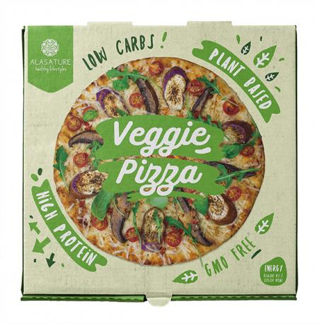 DIET PREMIUM PIZZA VEGETAL FAMILIAR ALASATURE 350G
