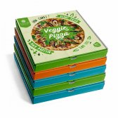 DIET PREMIUM PACK 5 PIZZAS 2 POLLO 2 ATUN 1 VEGETAL X 350G