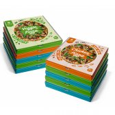 DIET PREMIUM PIZZA PACK 10 3 ATUN 4 POLLO 3 VEGETAL 350G