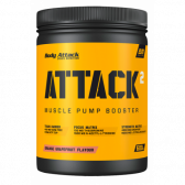 BODY ATTACK PRE WORKOUT ATTACK 2.0 600G GREEN APPLE CAD:10/2018