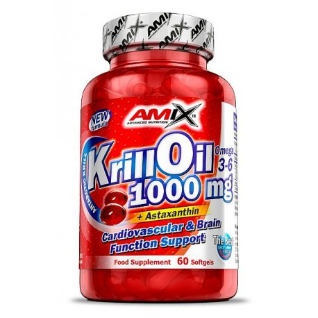 AMIX KRILL OIL 1000MG 60 SOFTGELS