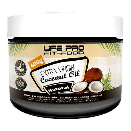LIFE PRO FIT FOOD EXTRA VIRGIN COCONUT OIL 400G