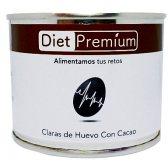 DIET PREMIUM CLARA DE HUEVO SABOR CACAO 128GR