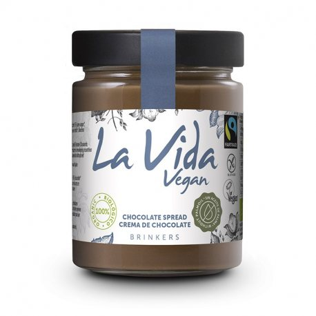 BIOCOP CREMA CHOCOLATE SPREAD LA VIDA VEGAN 270G