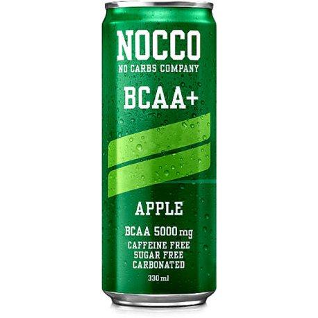 NOCCO BCAA 5GR 330 ML MANZANA