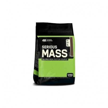 OPTIMUM NUTRITION OPTIMUM SERIOUS MASS 12 LBS