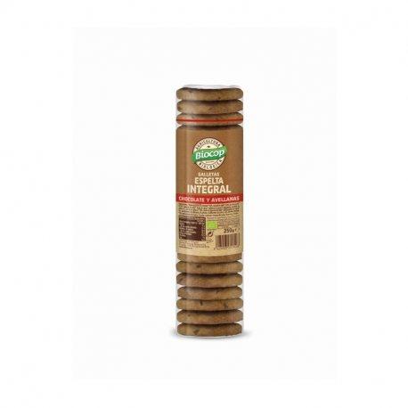 GALLETA ESPELTA CHOCO-AVELLANA BIOCOP 250 G