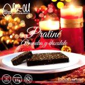 PR-OU TURRON PRALINE DE CLARA HUEVO ALMENDA Y CHOCOLATE 175gr
