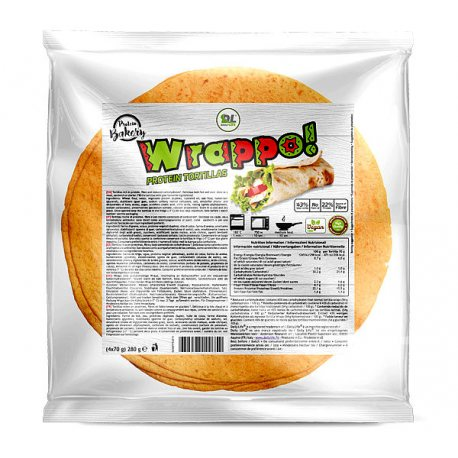 DAILY LIFE WRAPPO PROTEIN TORTILLAS 280G