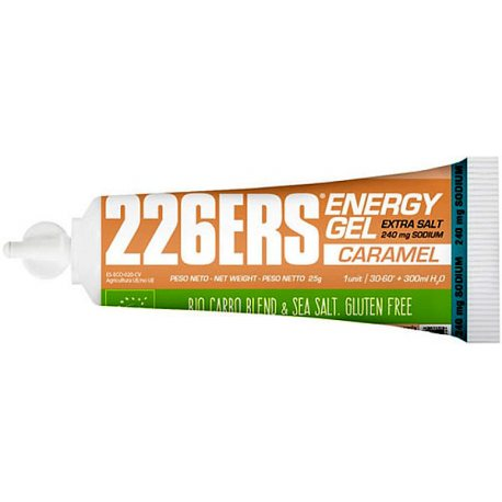 226 Energy Gel BIO 25G Extra Salt CARAMEL