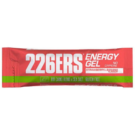 226ERS Energy Gel Bio 40G NO CAFFEINE