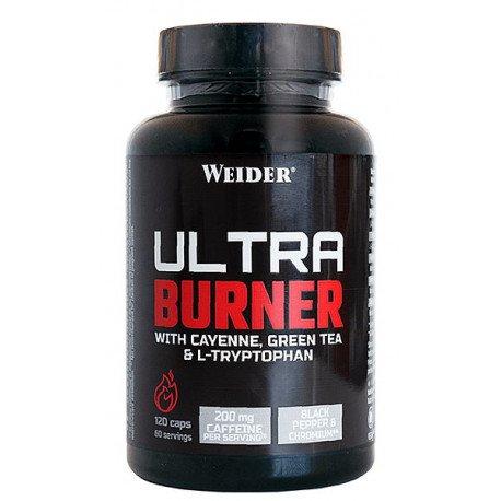 WEIDER ULTRA BURNER 120CAPS