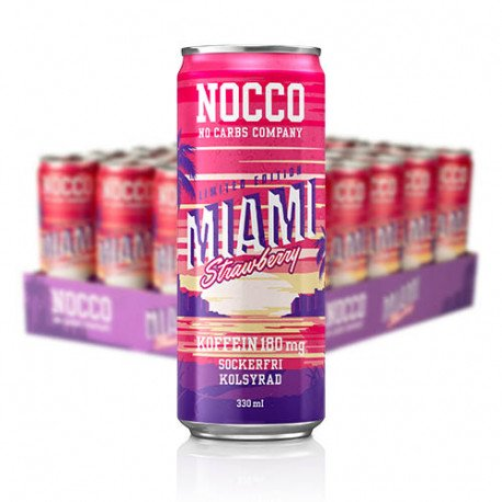 NOCCO MIAMI LIMITED EDITION 2019 BCAA CAFEINA 180mg