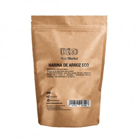 NUTRIMARKET HARINA DE ARROZ ECO 500 G