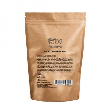 NUTRIMARKET CHLORELLA EN POLVO ECO 100 G