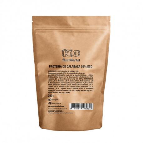 NUTRIMARKET BIO PROTEÍNA DE CALABAZA 250 G