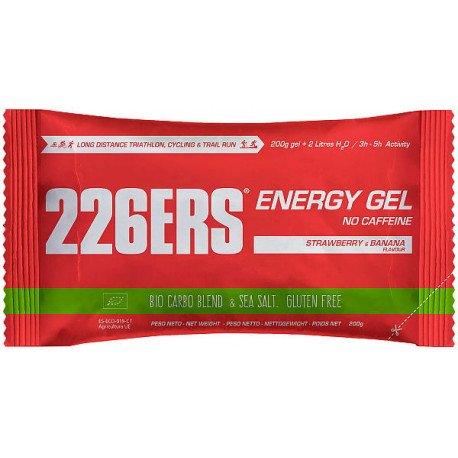 226ERS ENERGY GEL SIN CAFEINA FRESA-PLATANO 200G