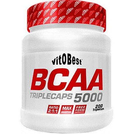 VIT.O.BEST BCAA 5000 200 TRIPLECAPS