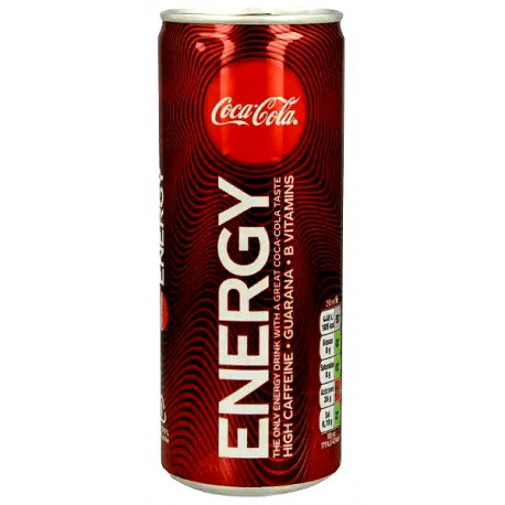COCA COLA ENERGY 250ML