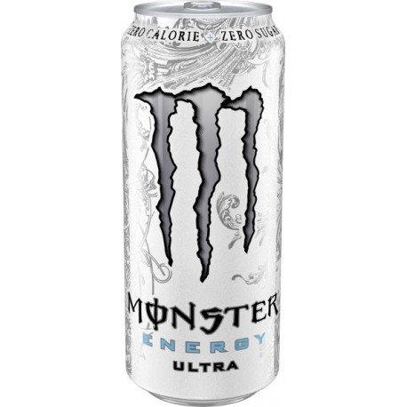 MONSTER ENERGY ULTRA WHITE ZERO 500ML