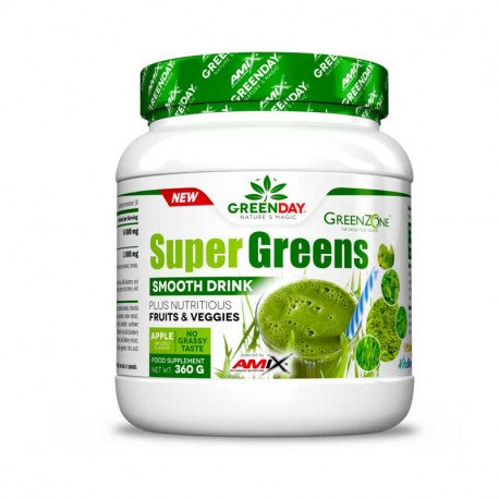 AMIX GREENDAY SUPERGREENS SMOOTH DRINK 360G