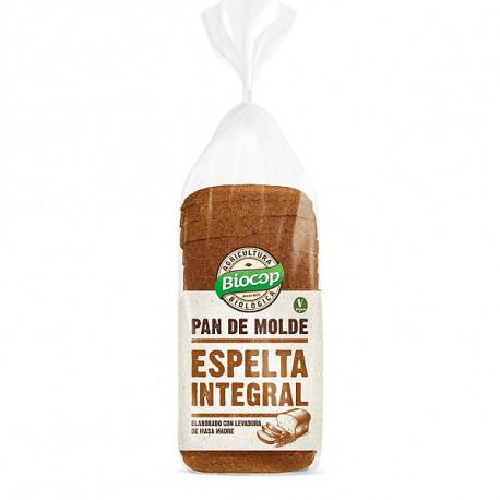 BIOCOP PAN DE MOLDE ESPELTA INTEGRAL 400g