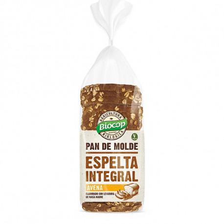 BIOCOP PAN DE MOLDE ESPELTA INTEGRAL 400g AVENA