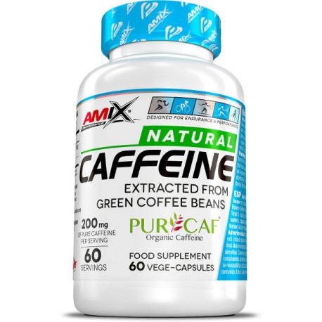 AMIX NATURAL CAFFEINE 200mg 60caps