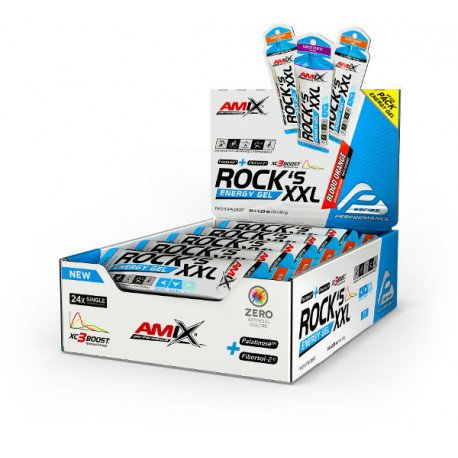 AMIX PERFORMANCE ROCKS ENERGY SPORT GEL XXL 65Gx24