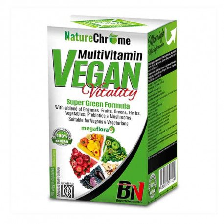 Beverly Nutrition Multivitamin Vegan Vitality 80Caps