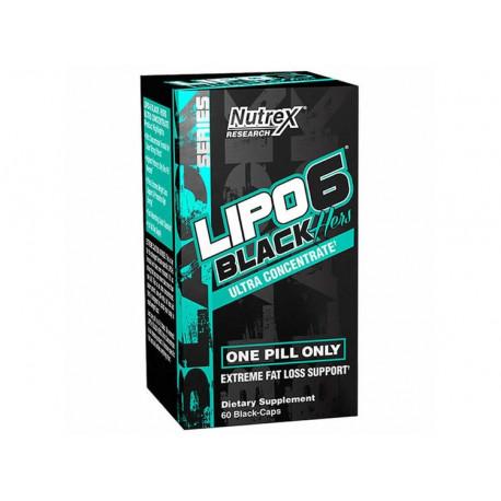 LIPO-6 BLACK HERS 60 CAPS