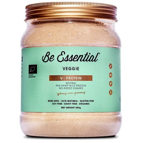 BE ESSENTIAL V-PROTEIN VEGGIE NATURAL 500G