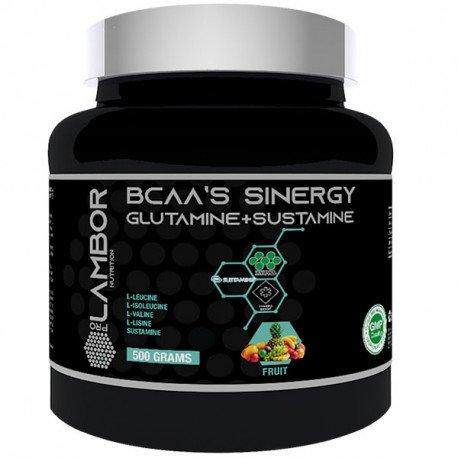 PROLAMBOR BCAAS SINERGY GLUTAMINE+SUSTAMINE 500G