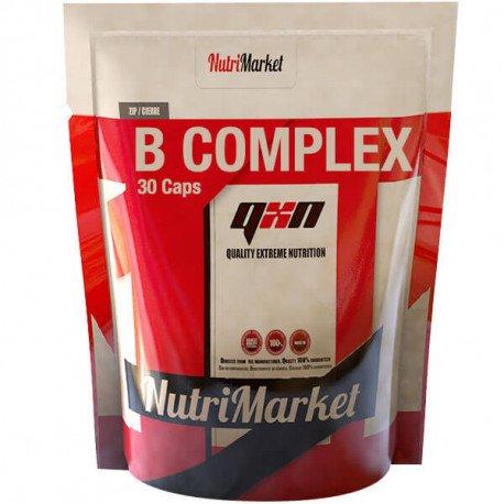QXN NEW B COMPLEX 30 CAPS