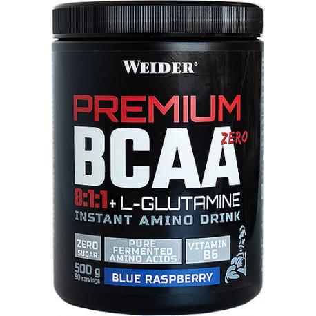 WEIDER PREMIUM BCAA 8-1-1 GLUTAMINE ZERO SUGAR 500G