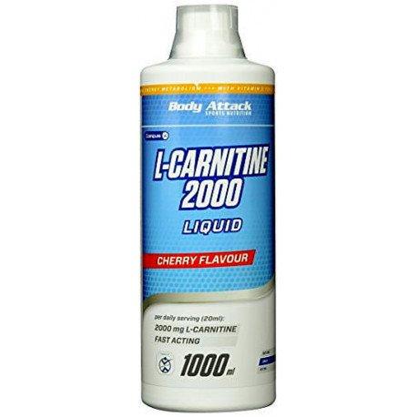 BODY ATTACK L-CARNITINE 2000 LIQUID 1000ML