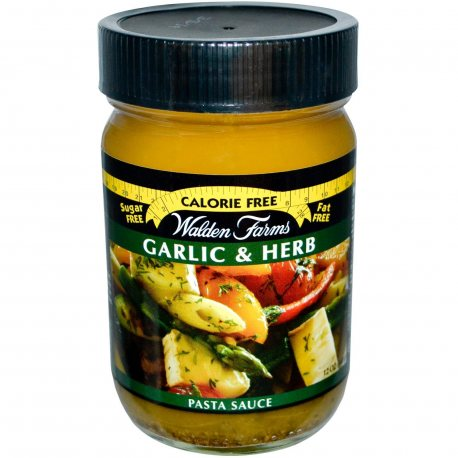 WALDEN FARMS PASTA SAUCES GARLIC & HERB