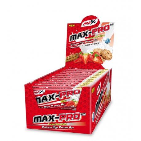 amix-max-pro-protein-24x60-grs-barritas MENÚ ESQUEMÁTICO PARA EL DEPORTISTA PROFESIONAL
