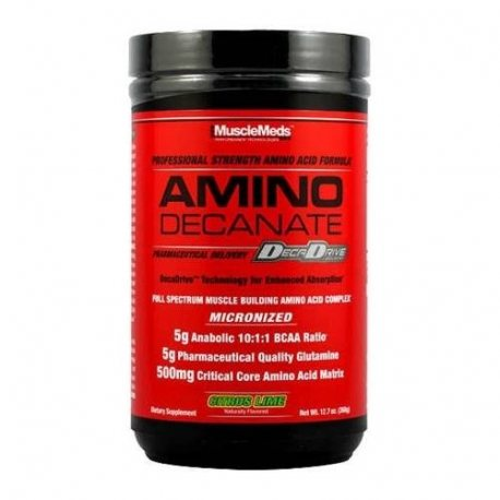 MUSCLEMEDS AMINO DECANATE 360 grs.