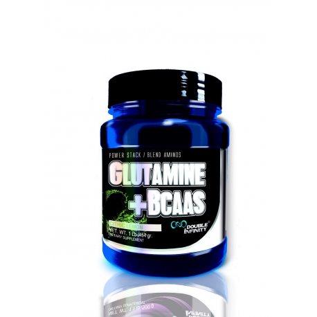 DOUBLE INFINITY GLUTAMINA+BCAA'S 1 Lb.
