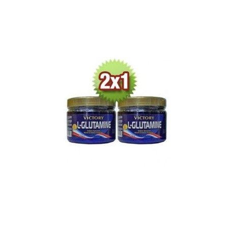 VICTORY VICTORY L-GLUTAMINE 2X1 300+300Grs