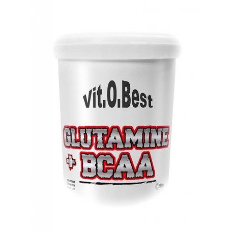 VIT.O.BEST GLUTAMINA + BCAA 200 Grs.