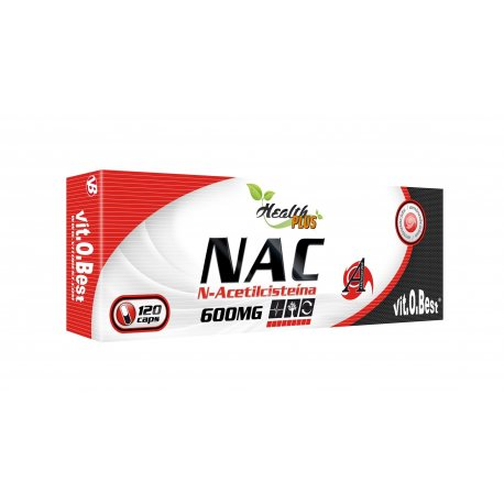 VIT.O.BEST NAC 600MG 120 CAPS.