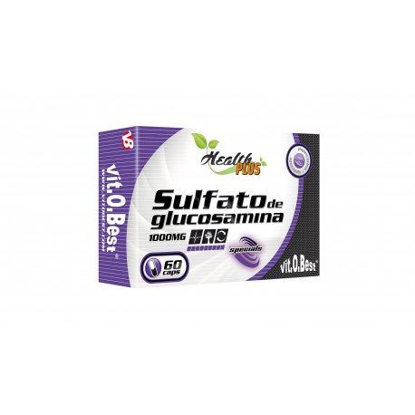 VIT.O.BEST SULFATO DE GLUCOSAMINA 1000 MG 60 CAPS.