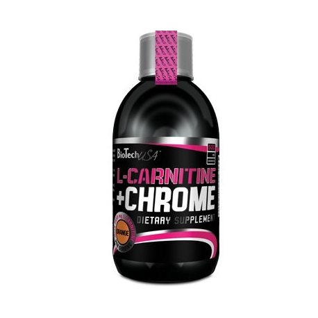 BIOTECH USA L-CARNITINE + CHROME 500ML