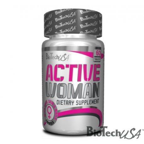 BIOTECH USA ACTIVE WOMAN 60 TABS.